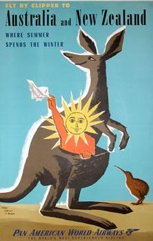 Australia & New Zealand - Pan Am