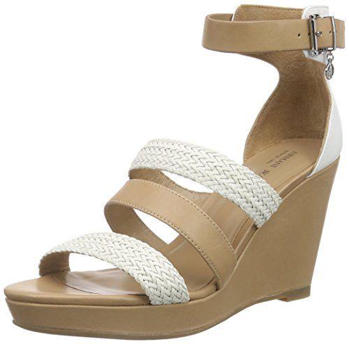 Armani Jeans C551915 Damen Knöchelriemchen Sandalen mit Keilabsatz - http://on-line-kaufen.de/armani-jeans/armani-jeans-c551915-damen-knoechelriemchen-mit