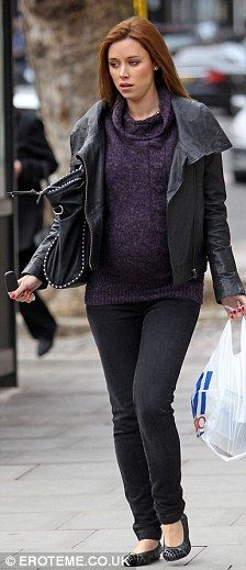 Una Healy fromThe Saturdays | Maternity style | Celebrity | Pregnancy | Fashion