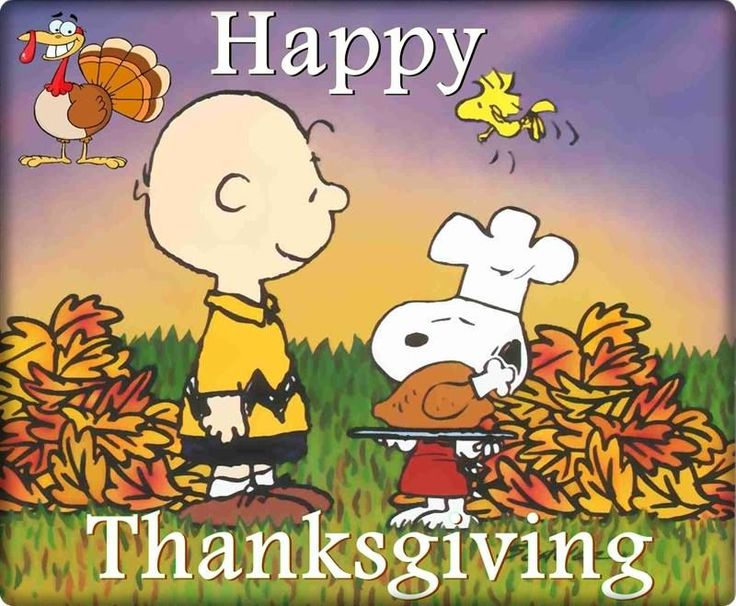 Snoopy - Thanksgiving