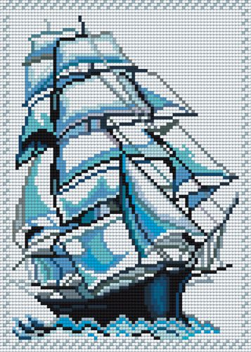 Cross-stitch, Pictures