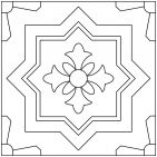 Color-It Cuerda Seca Custom Paint Tool | Fireclay Tile
