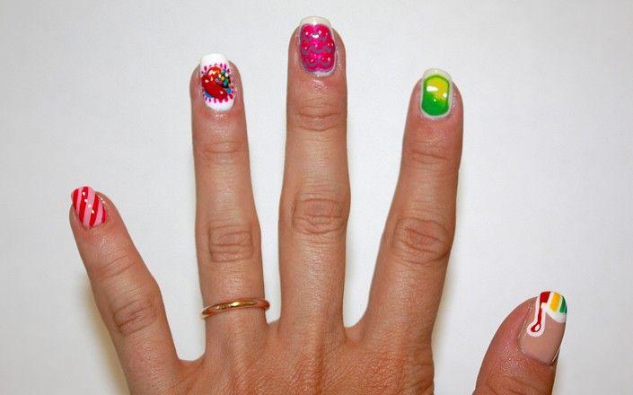 Nail Designs: Get Candy Crush Nails | Beauty High