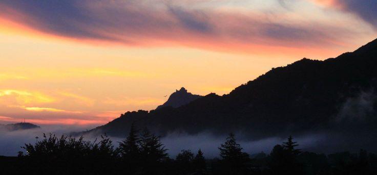 La valle di Susa in una mattina di ottobre. (Foto di Carlo Ravetto)