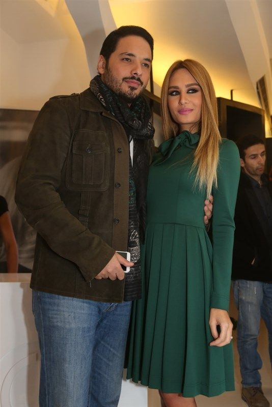 Ramy ayach dalida ayach at dalida 39 s boutique opening celebrities pinterest discover Celebrity style fashion boutique