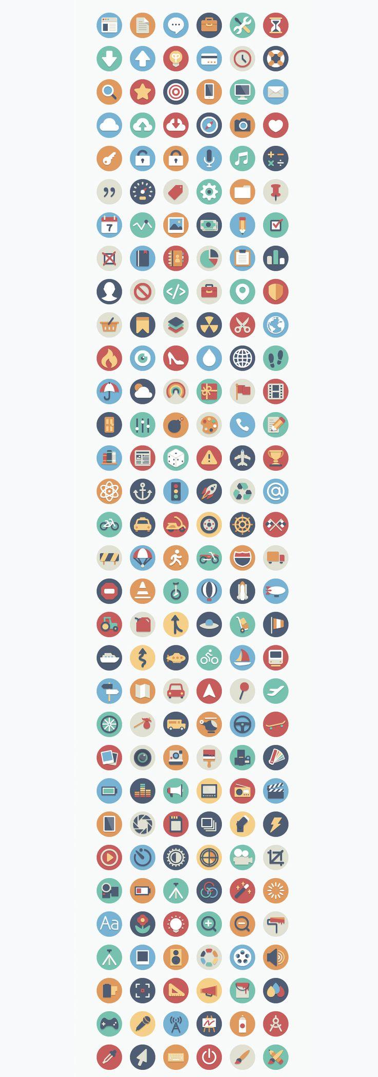 Beautiful Flat Icons