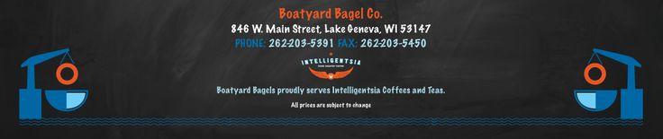 Boatyard Bagel Co. / Lake Geneva, Wisconsin / Bagels / Sandwiches / Salads / Intelligentsia Coffee and Teas / Boars Head Meats / Restaurant