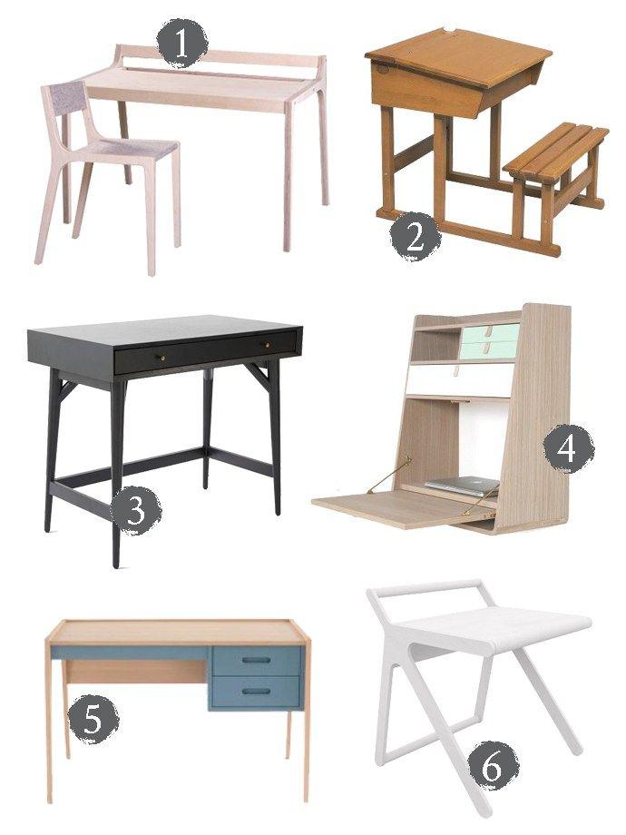 Stylish Childrenu0027s Desks And Workspaces
