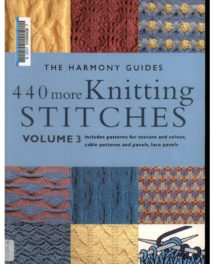 440 more knitting stitches Harmony guides vol 3 Free dl