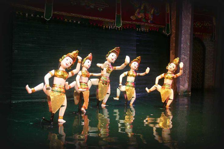 Mua Roi Nuoc Puppet Dance