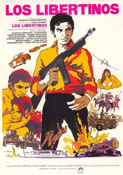 Los Libertinos #movie #poster (1970)