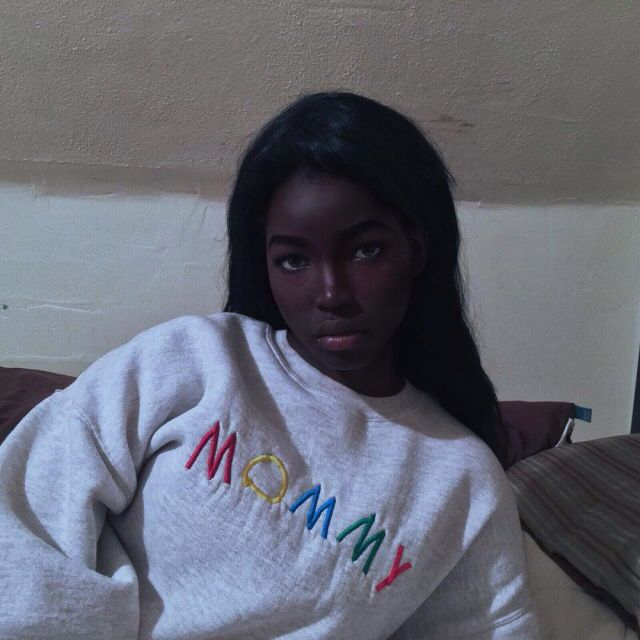 African american ugly girl