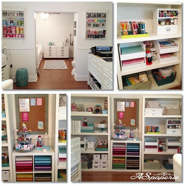 640 Best Craft Room Home Office Ideas Images On Pinterest