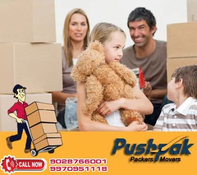 Packers and Movers in Nagpur, Call Us: 9028766001 Pushpak Relocation