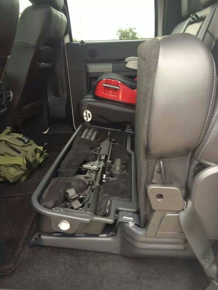 Gun Safe Under the Seat…. i don't need it for an AR but preferably for the rifle and my hand gun