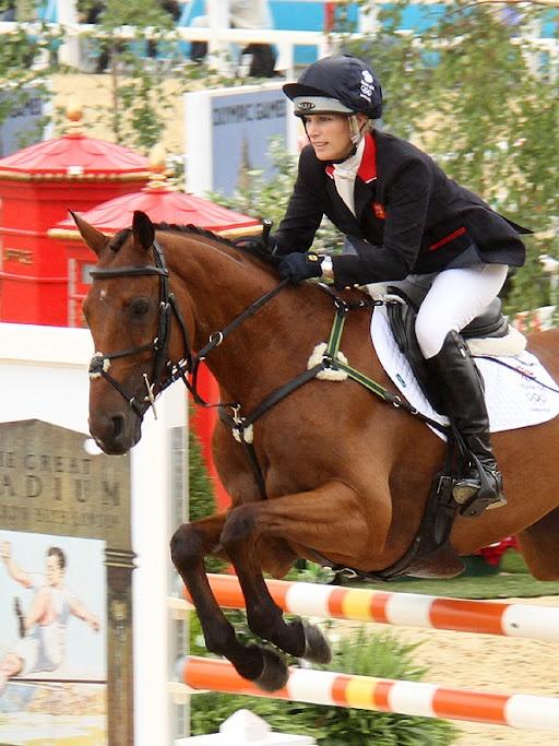 London 2012 Olympics Equestrian Event - Team GB Zara Pillips  #Olympics # equestrian #London 2012