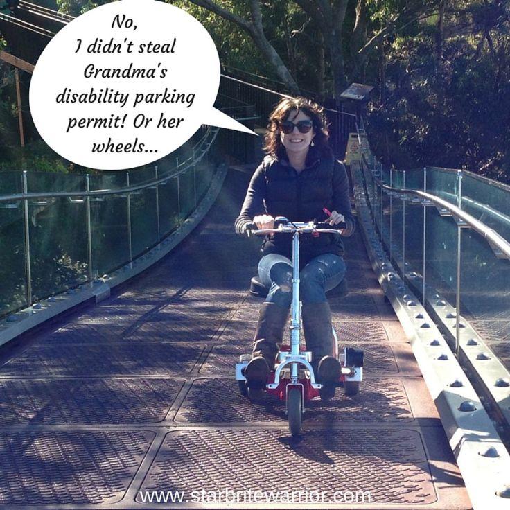 No, I Didnu0027t Steal Grandmau0027s Disability Parking Permit - presume and assume