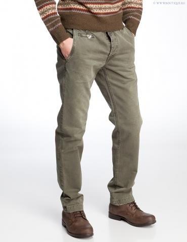 Серо зеленые джинсы
