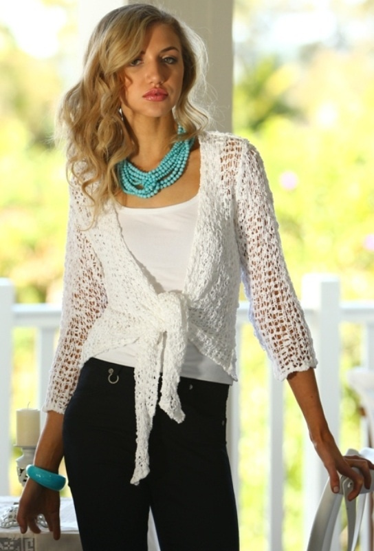 Perfect coverup for summer nights