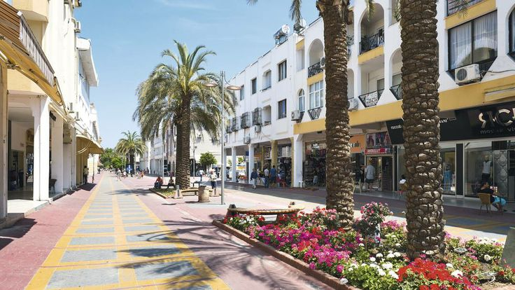 Main shopping street of  #Kemer #Turkey