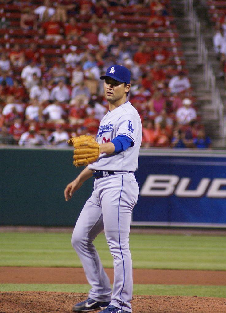 DSC03270 Chan Ho Park - Los Angeles Dodgers -