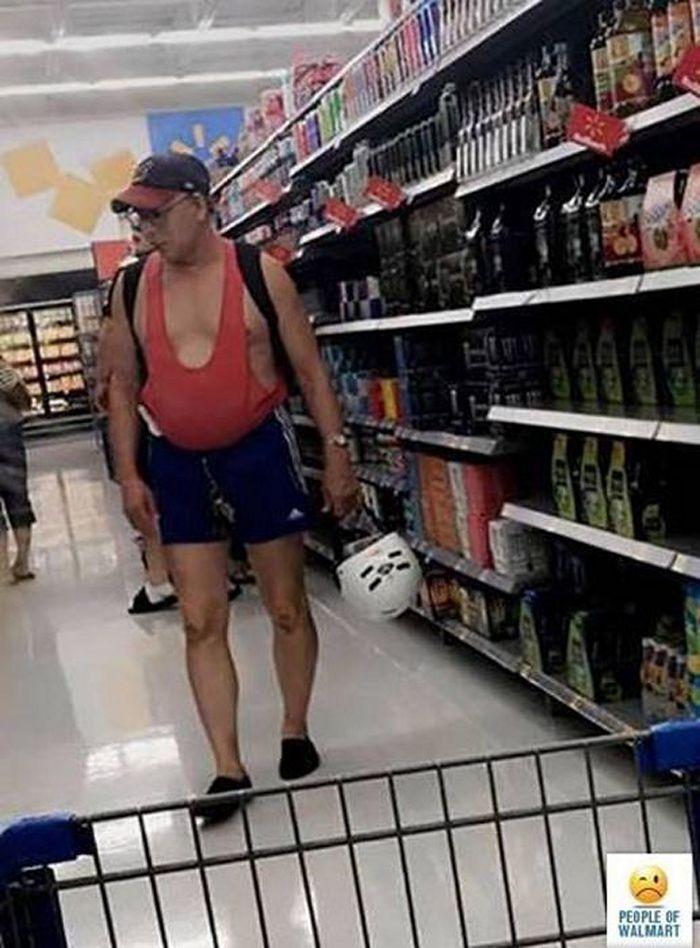 Walmartians caught on camera