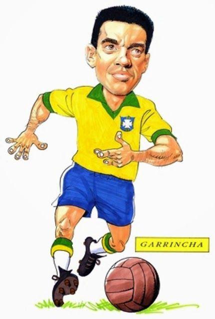 cosasdeantonio: Garrincha - Biografía