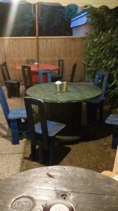 Tavolini by Marco con bancali