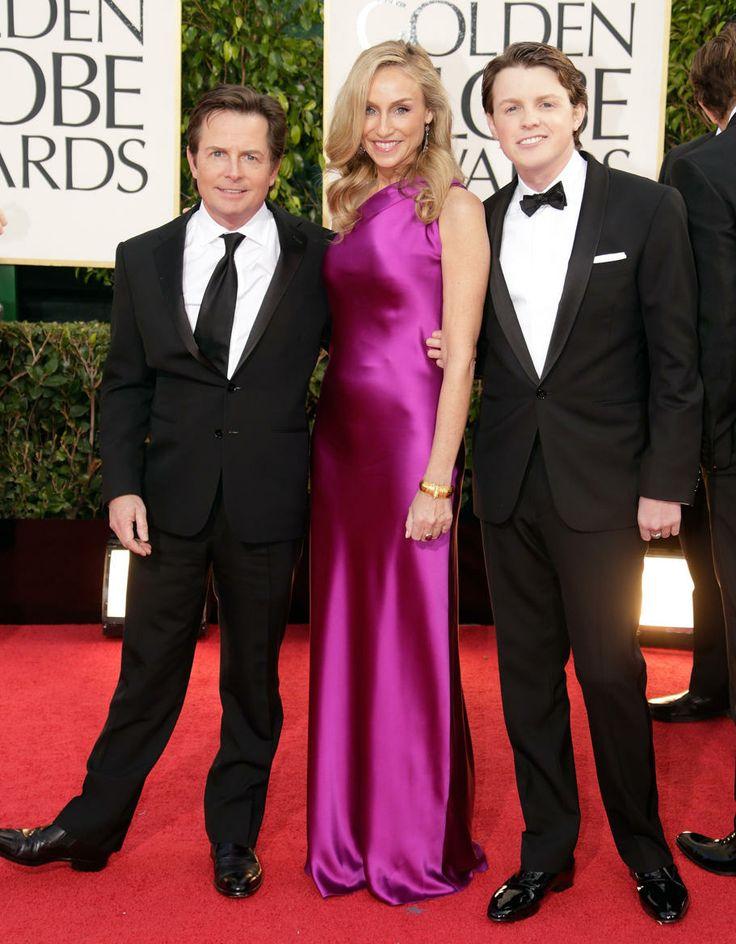 Michael J. Fox and son Sam Fox