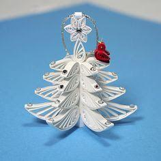 70 φανταστικές Χριστουγεννιάτικες κατασκευές και στολίδια με χαρτί και την τεχνική Quilling!   Φτιάξτο μόνος σου - Κατασκευές DIY - Do it yourself