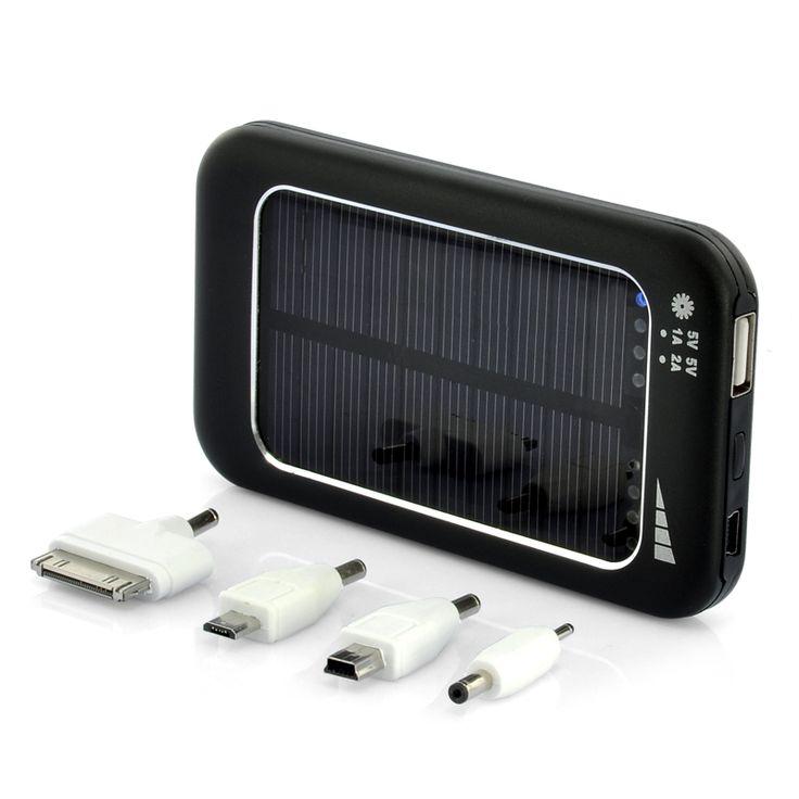 Baterie externa solara 4500 mAh http://www.gadgetworld.ro/acumulator-extern-solar-powerbank-4500-mah.html