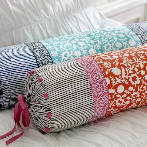 serena bolster pillow covers