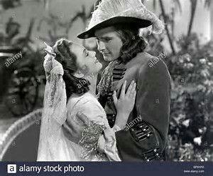Olivia de Havilland and Errol Flynn in Captain Blood
