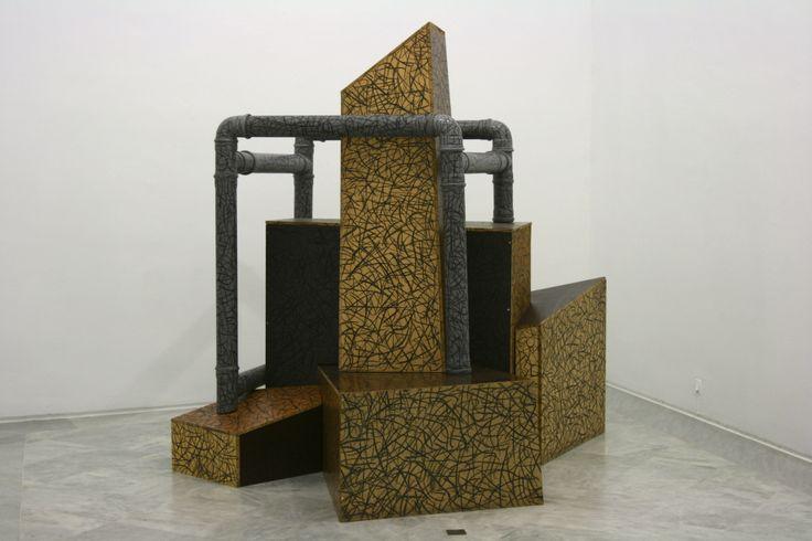 Escultura en el CAAC