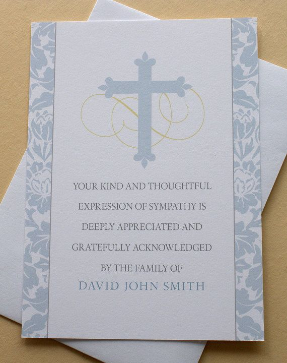 Best  Sympathy Thank You Notes Ideas Only On