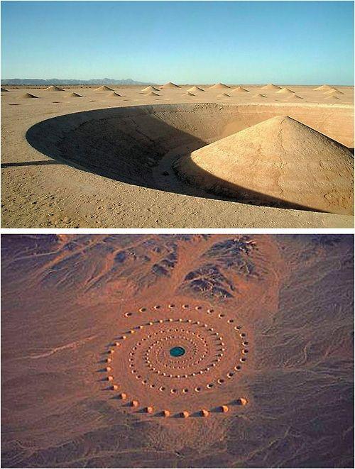 Land Art - Découvrez dans la suite de l'article l'une des meilleures selections de Land-Art du moment...
