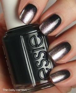 Essie Baroque Nail Art.   Beautiful. Looks like a classy Goth.
