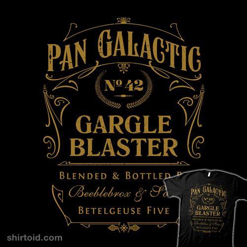 Pan Galactic Gargle Blaster: Galactic Gargle, Stuff, Gargle Blaster ...