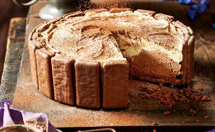 This NO BAKE Tim Tam Cheesecake is easy and delicious. Find all your favourite recipes on The WHOot Kitchen.