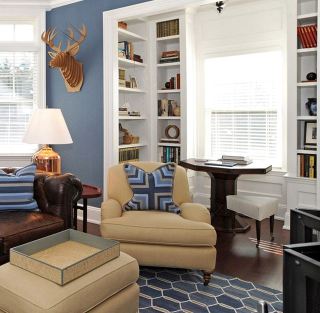 Beautiful Small Living Rooms: Corner Bookcase Units For Living Rooms