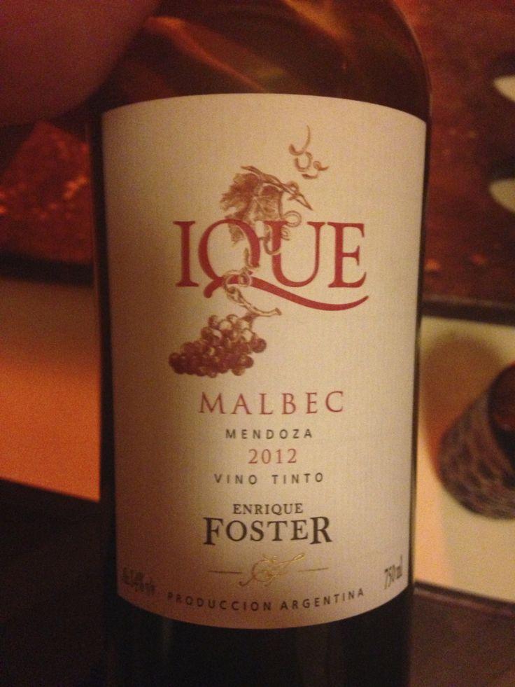Ique - Malbec - 2012 - Enrique Foster - Mendoza, Argentina
