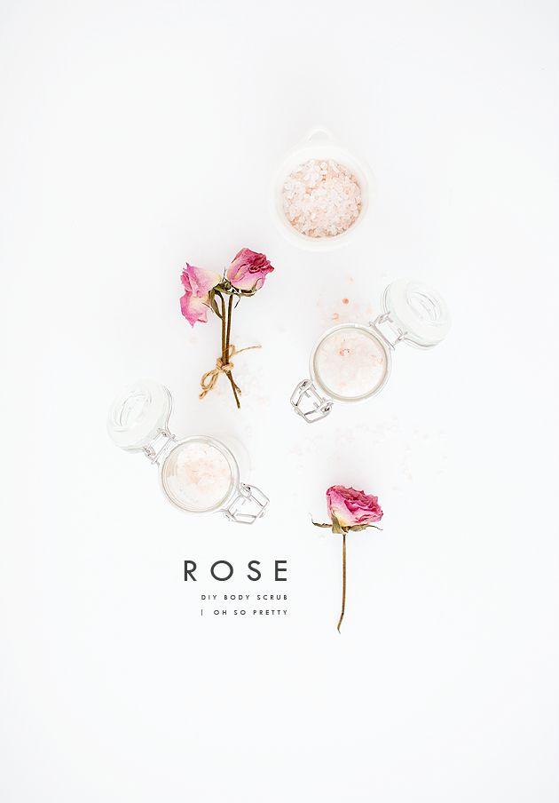 DIY | Rose Body Scrub