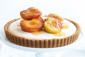 Mascarpone and Peach Tart by Donna Hay | tarts/pies | Pinterest
