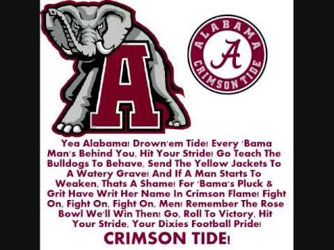 Rammer Jammer-(Give em Hell Alabama) Rap w/some lyrics - YouTube