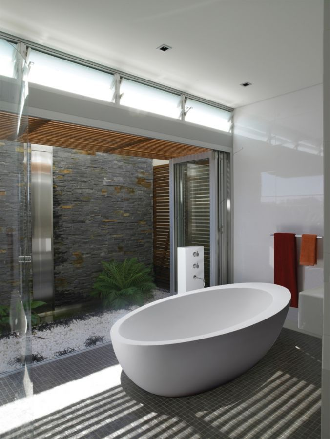 3103 Best Images About Luxe Bath Powder Rooms On Pinterest Soaking Tubs Contemporary