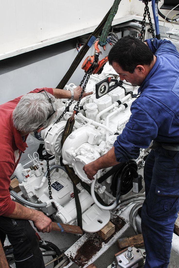 Engine loading procedure