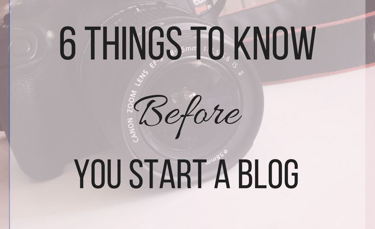 6 Things You Should Know Before You Start A Blog - Set Free with LB