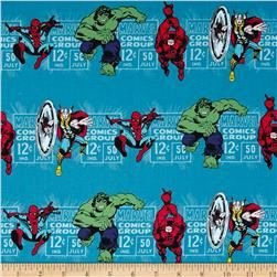 Marvel Comics Price & Hero Stripe Blue