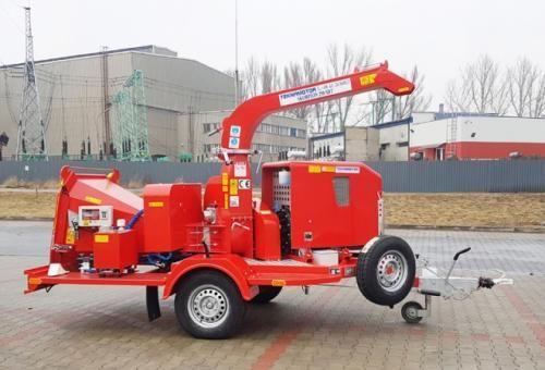 Tocator mobil cu disc skorpion 250sdt, cu motor lombardini - LemnSuperMarket.ro