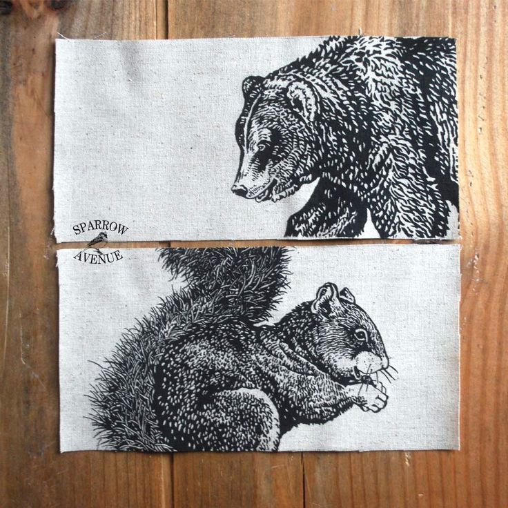 New pencil cases with Squirrel and Grizzly Bear coming soon